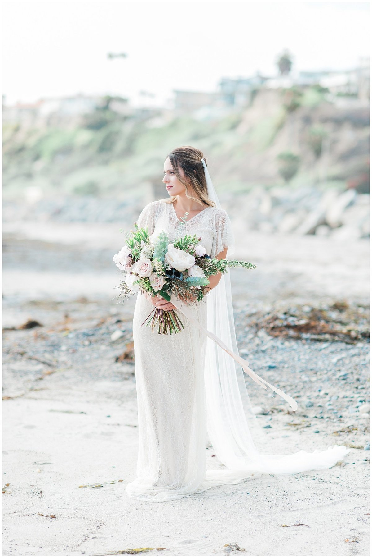 san clemente beach wedding elopement whimsical dreamy soft light socal photo017