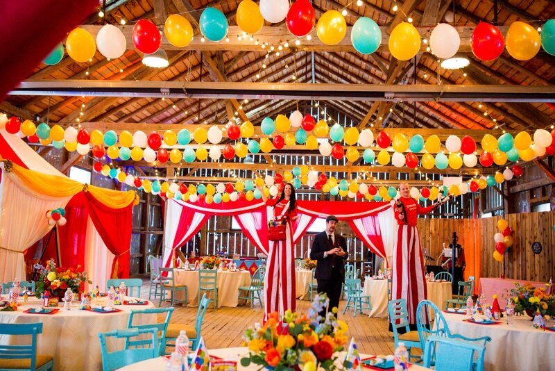 Circus Themed 1st Birthday Indianapolis Party Planner_0060