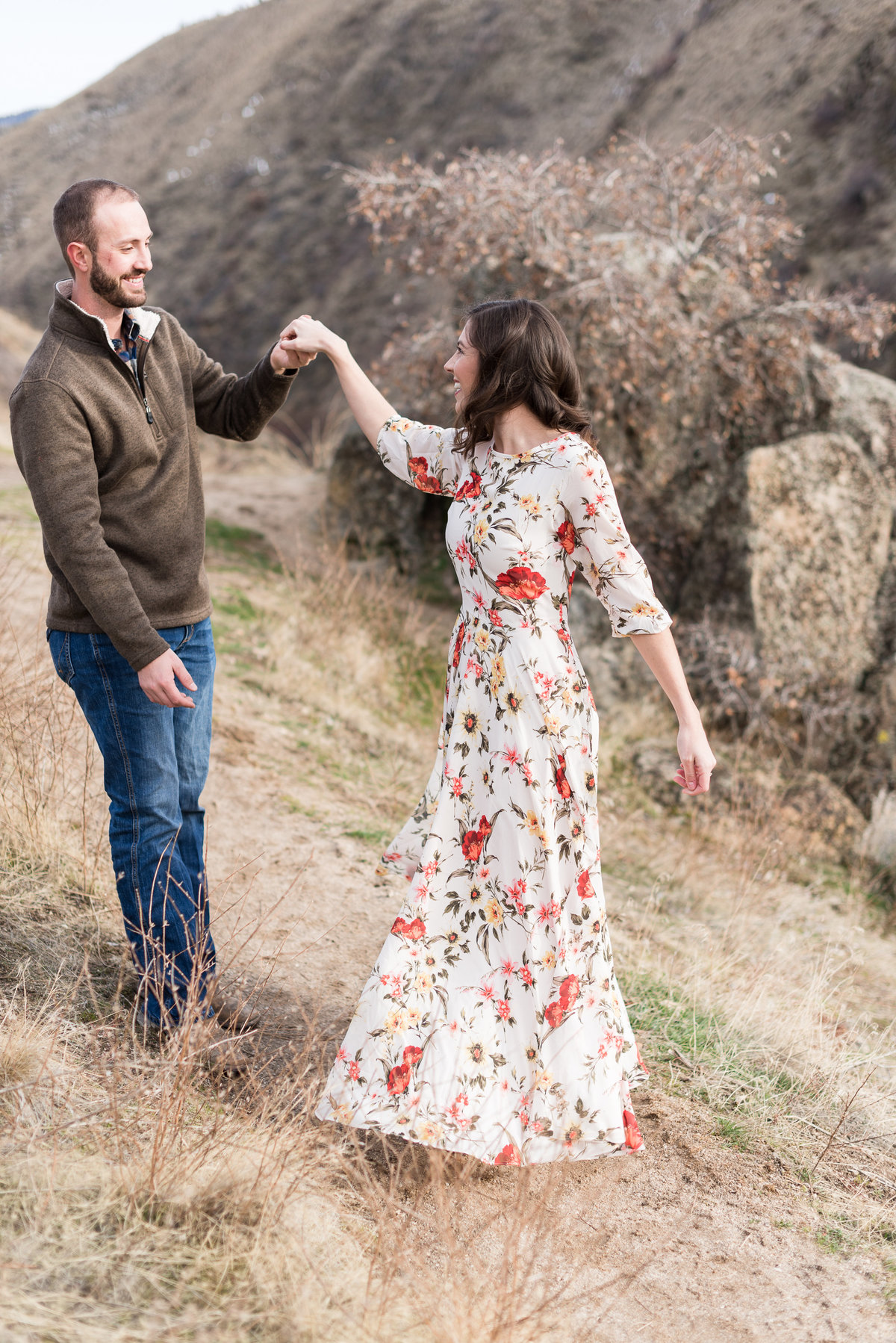 A  Winter Bogus Basin Engagement Shoot 009