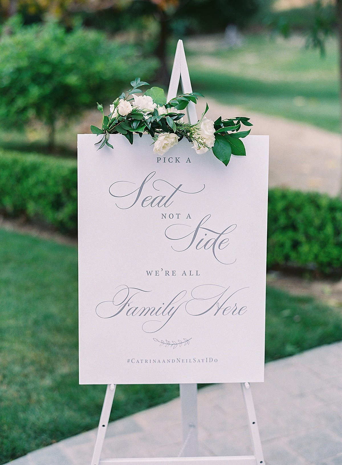 Posh Peony Newhall Mansion Piru Lush White Floral and Greenery Wedding_0007
