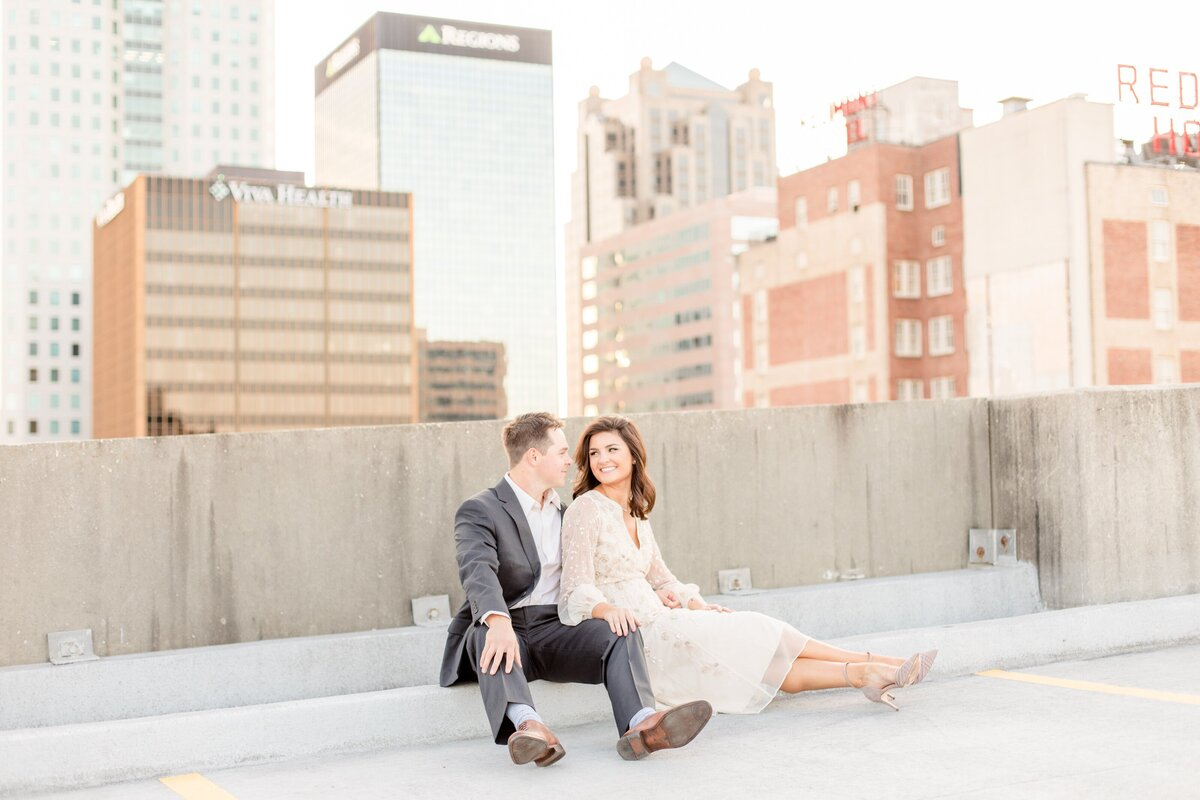 Downtown Birmingham, Alabama Engagement Session - Katie & Alec Photography 18