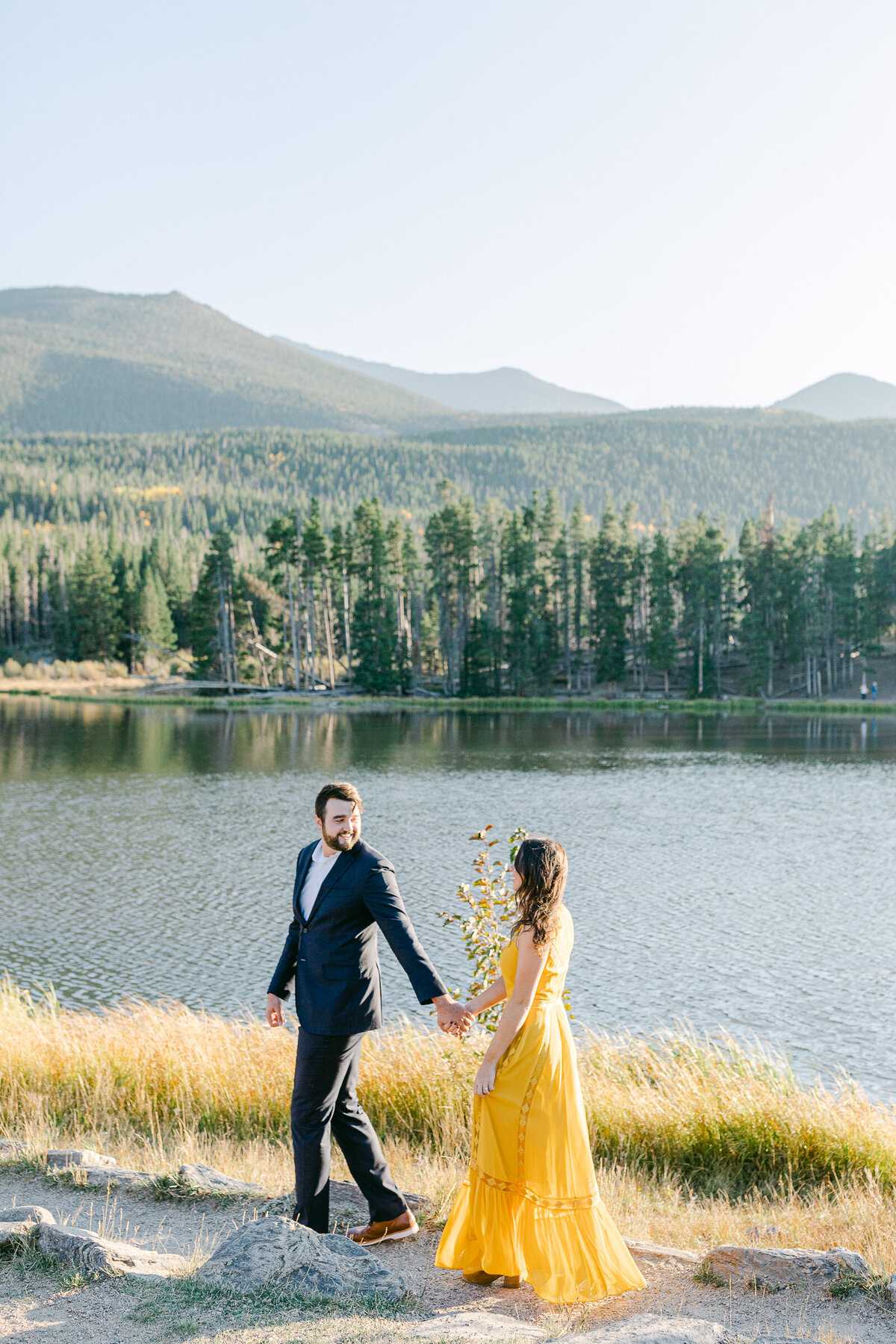 Leidy and Josh Photography | Rocky Mountain Colorado Engagement-27
