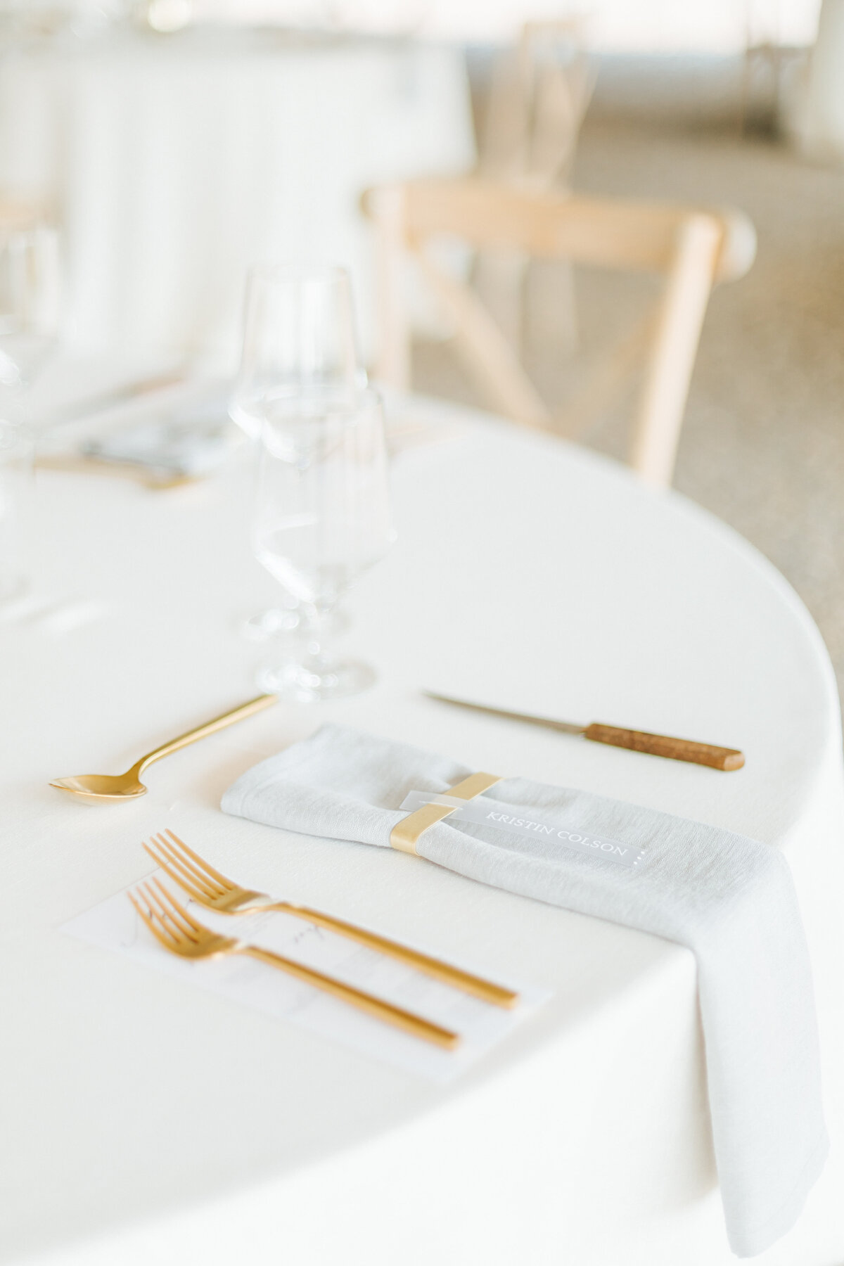 Wedding Tablescape Details