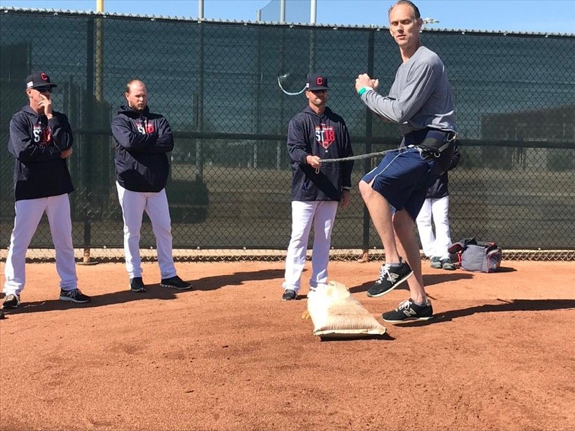 Spring training Indians