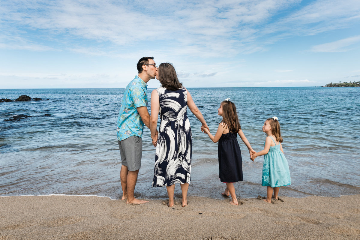 Kona Big Island Hawaii Family Photographer