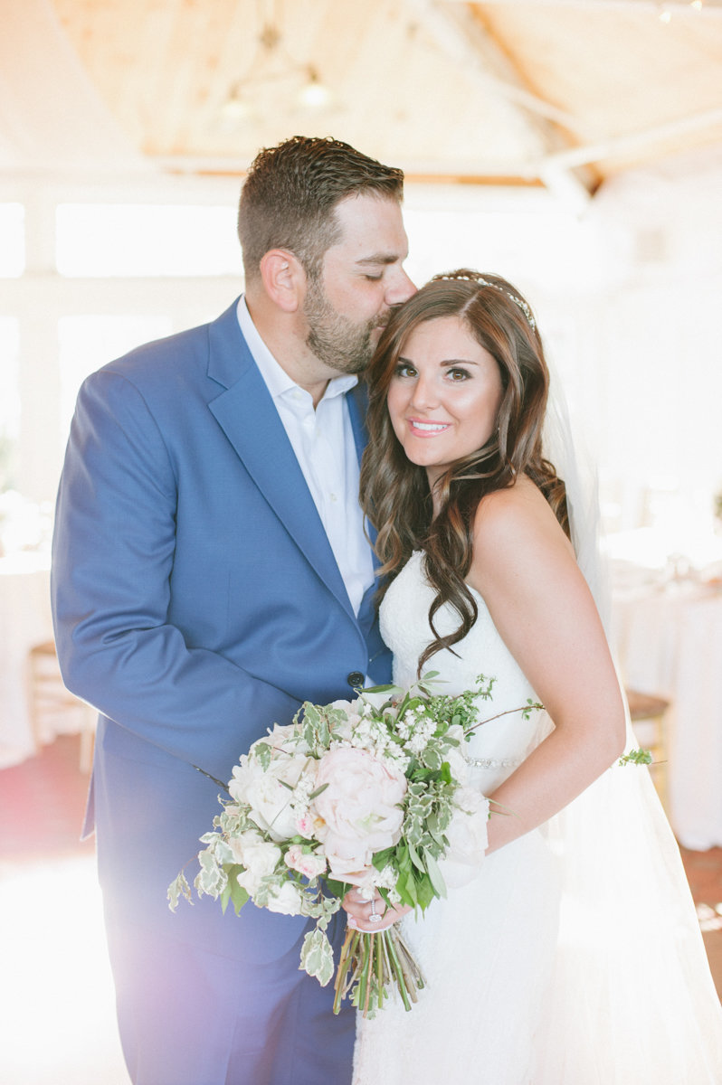 Sunny liberty house summer wedding