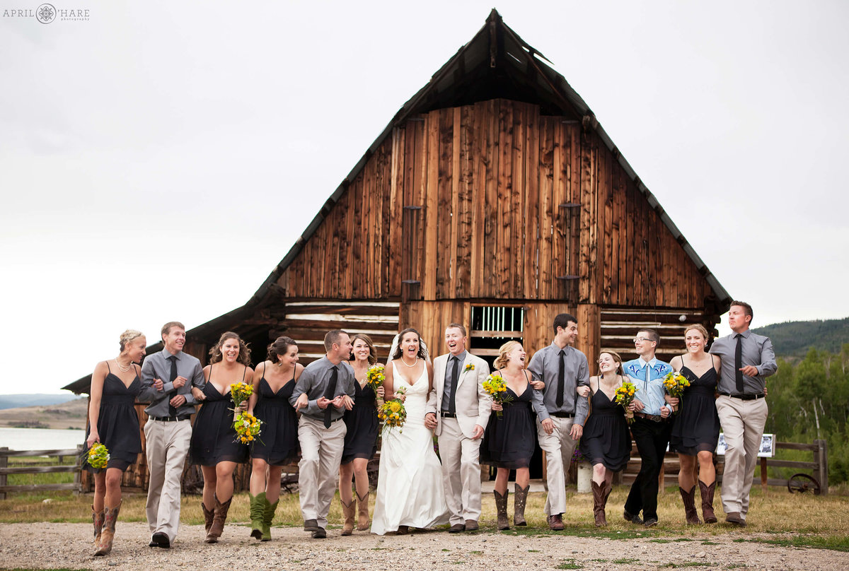 Steamboat Springs Wedding Photography at Catamount Ranch Heritage Cabin