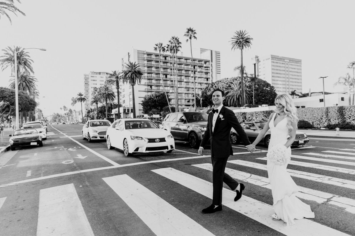 Tropical_Modern_Fairmont_Santa_Monica_Navy_Pink_Wedding_Valorie_Darling_Photography - 91 of 146
