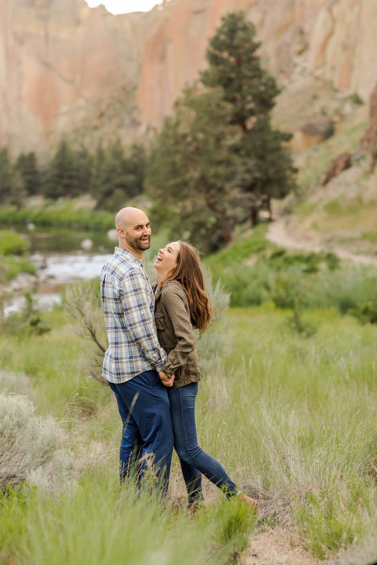 Smith Rock Engagement Session - Bend Oregon-1