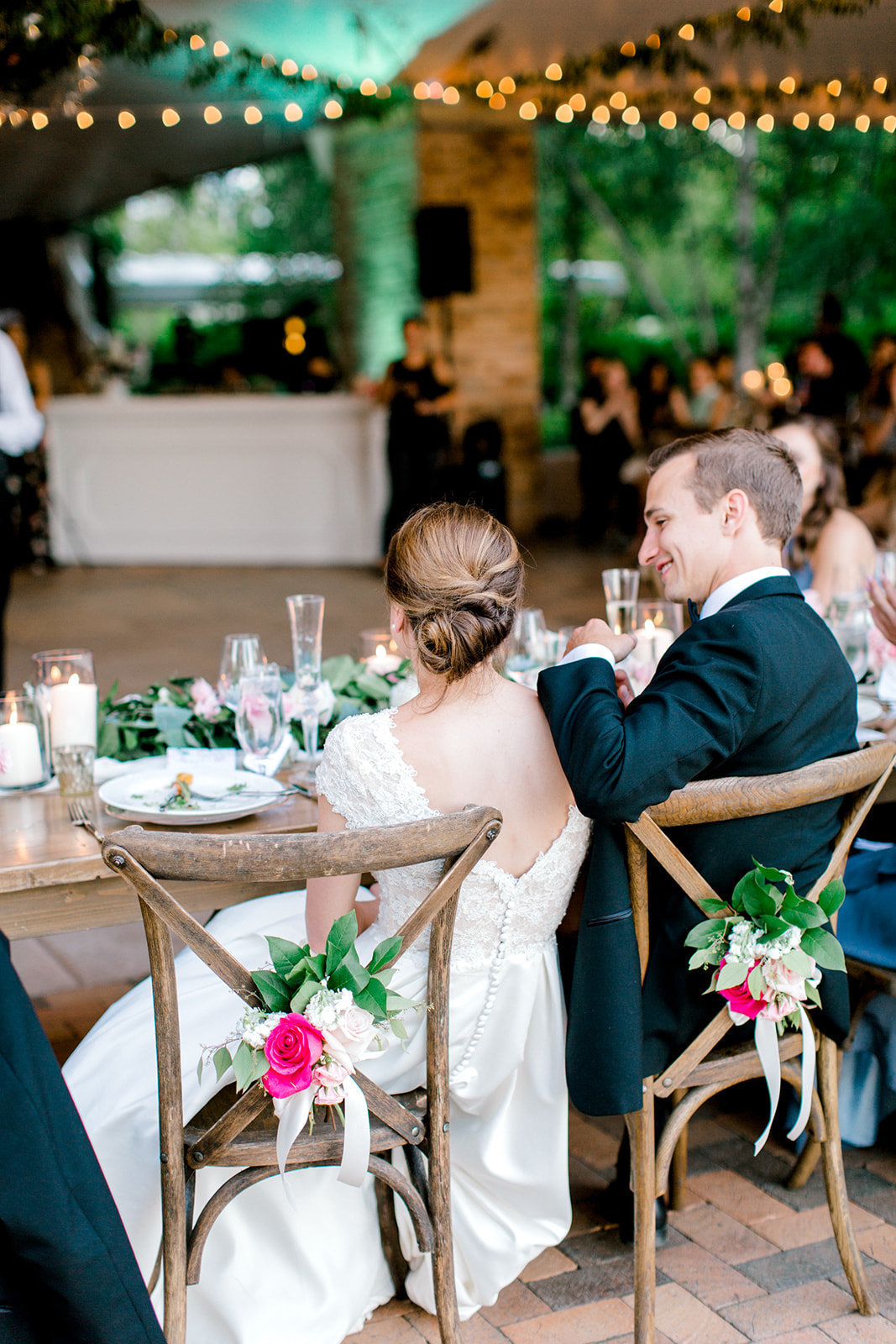 Chicago Botanic Gardens Wedding - Green and Pink Wedding_98