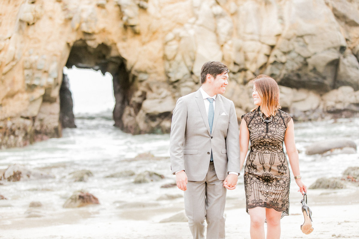 Northern California Beach Engagement Session