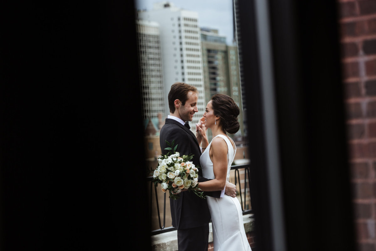 Ambassador-Chicago-Rooftop-Wedding