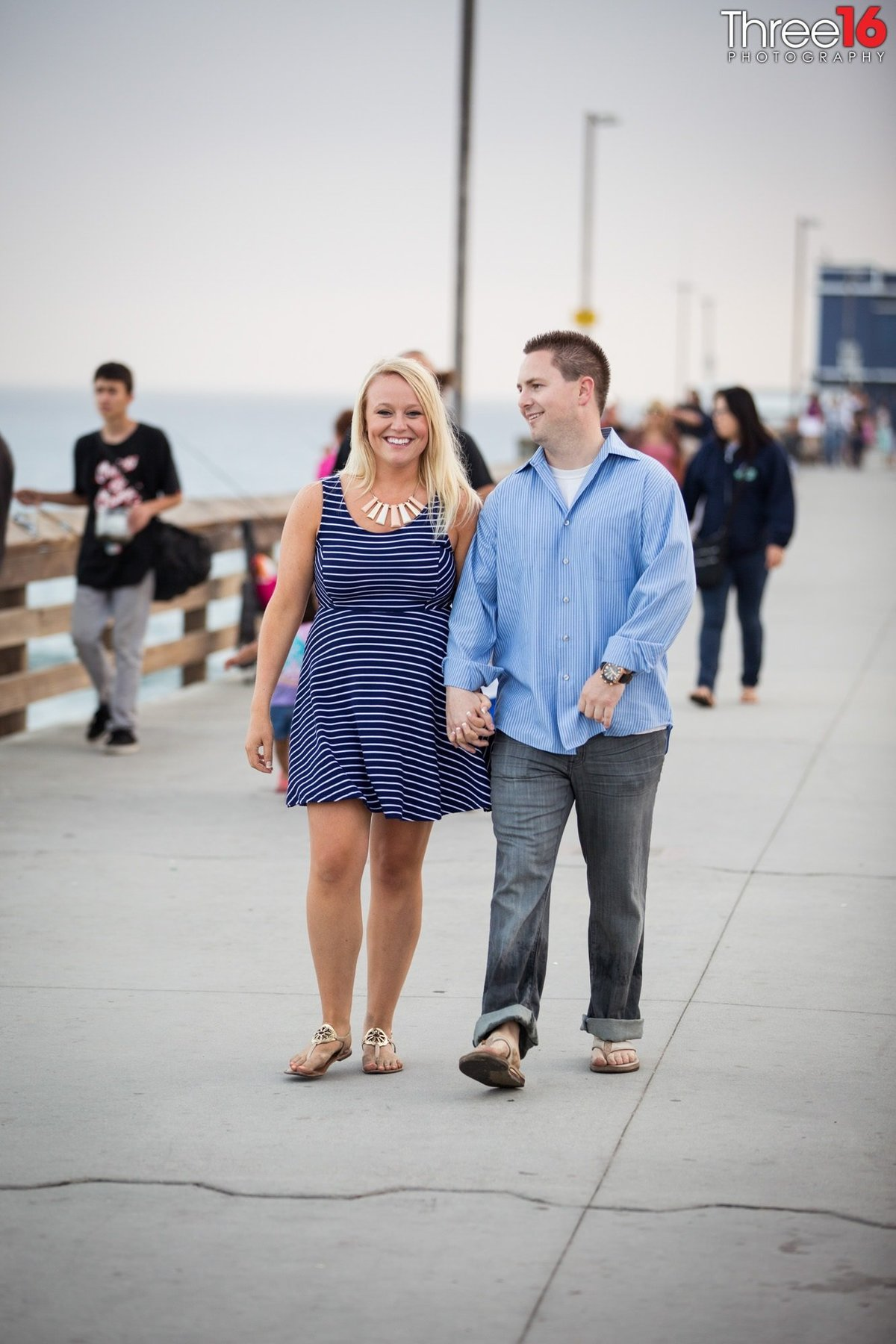 Newport Beach Pier Engagement Photos Orange County Newport Beach