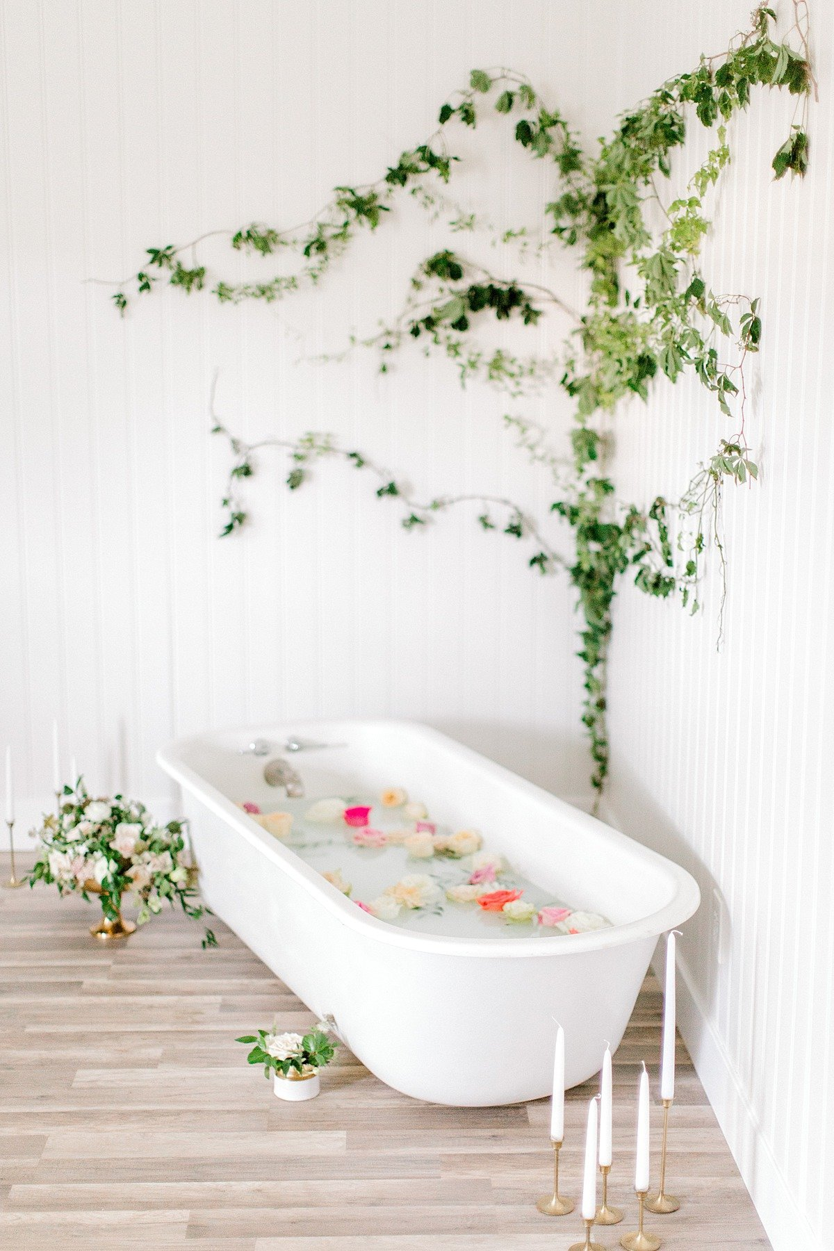 Fine Art Milk Bath Boudoir BHLDN Asos Lingerie VA Beach Studio Photographer Yours Truly Portraiture-15