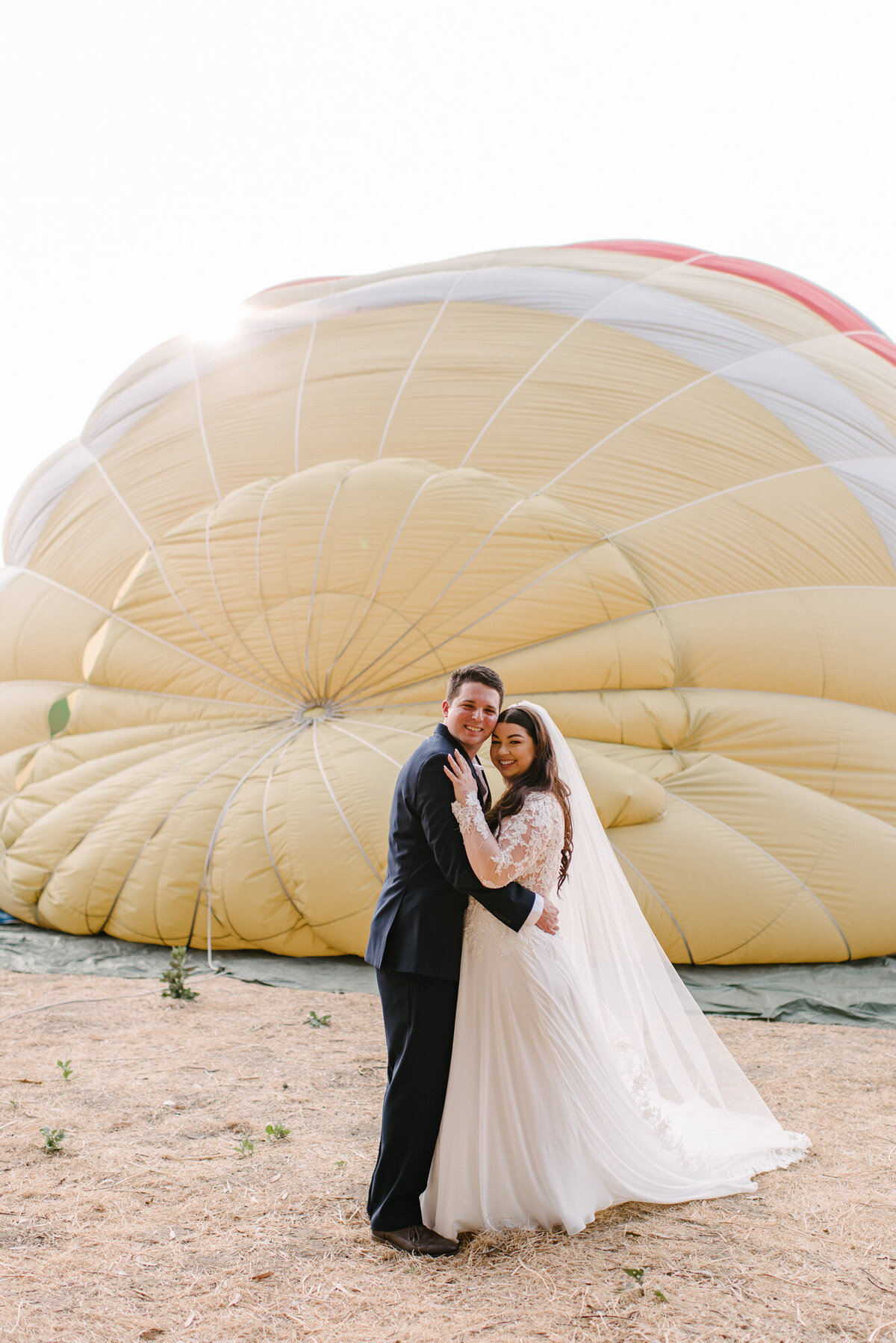 Hot Air Balloon Elopement Marie Monforte Photography-97