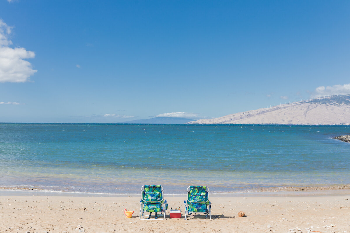 Maui Real Estate Photography - vacation rental on beach
