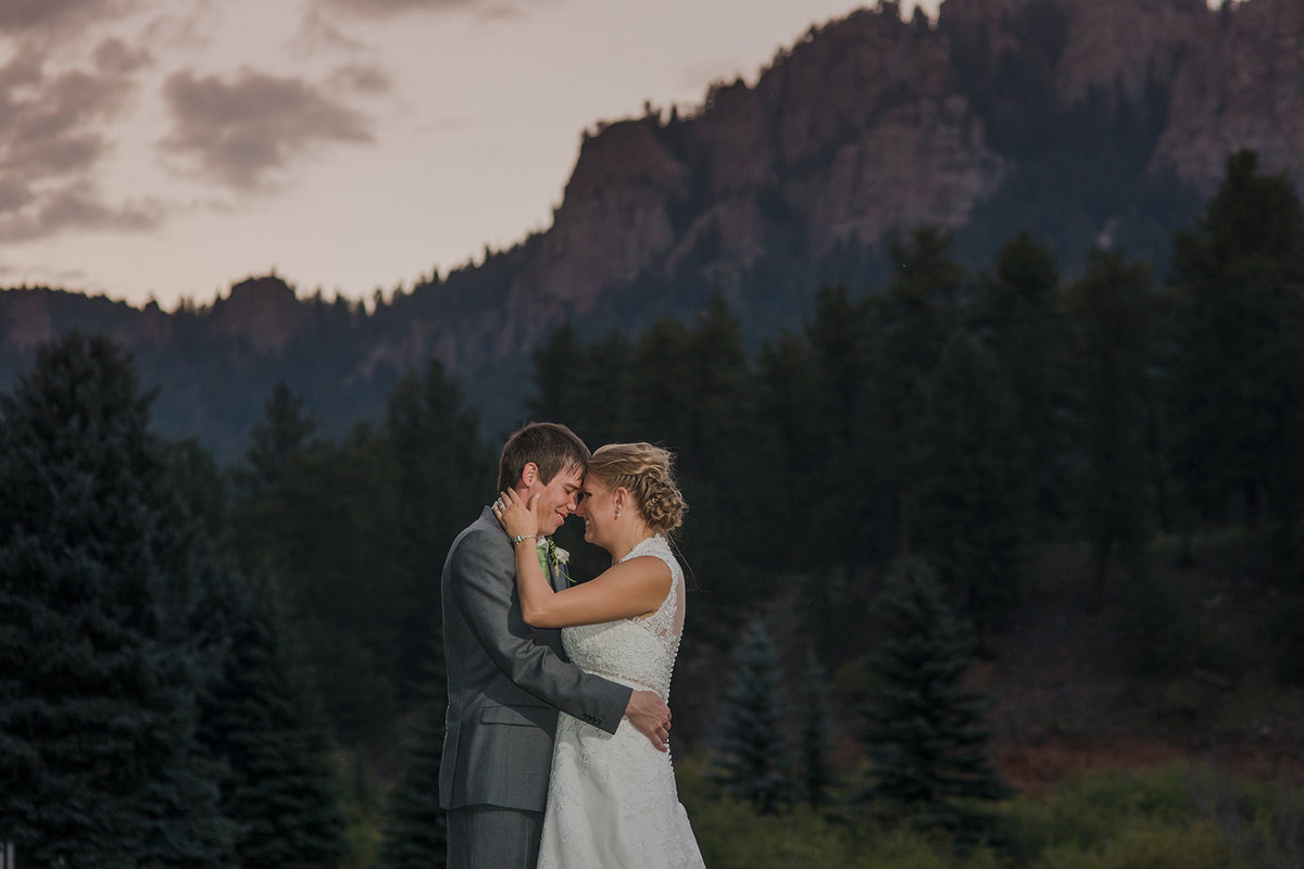 Pine Colorado Mountain Wedding