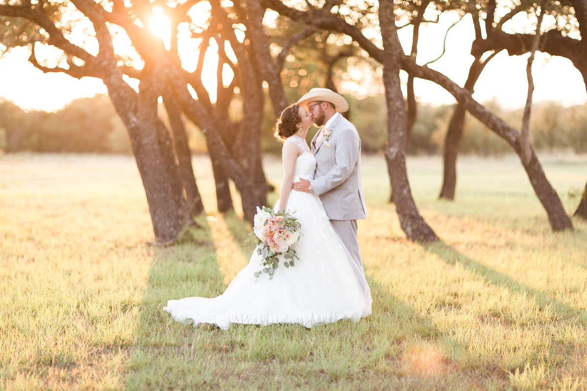 Kairos Celebration Barn Sunset Couple