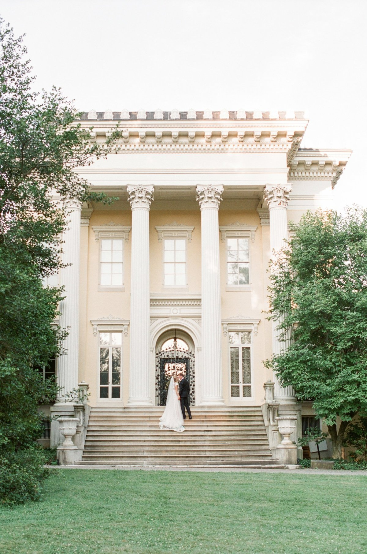 Evergreen Museum & Library Film Wedding Photos Lauren Fair Photography_0159