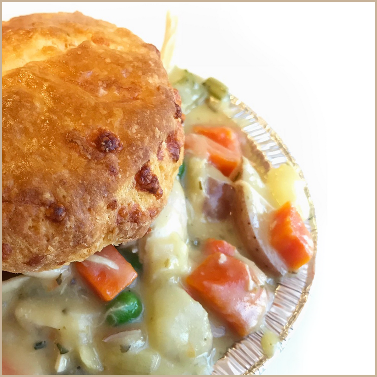 Whippt Kitchen cheddar biscuit pot pie