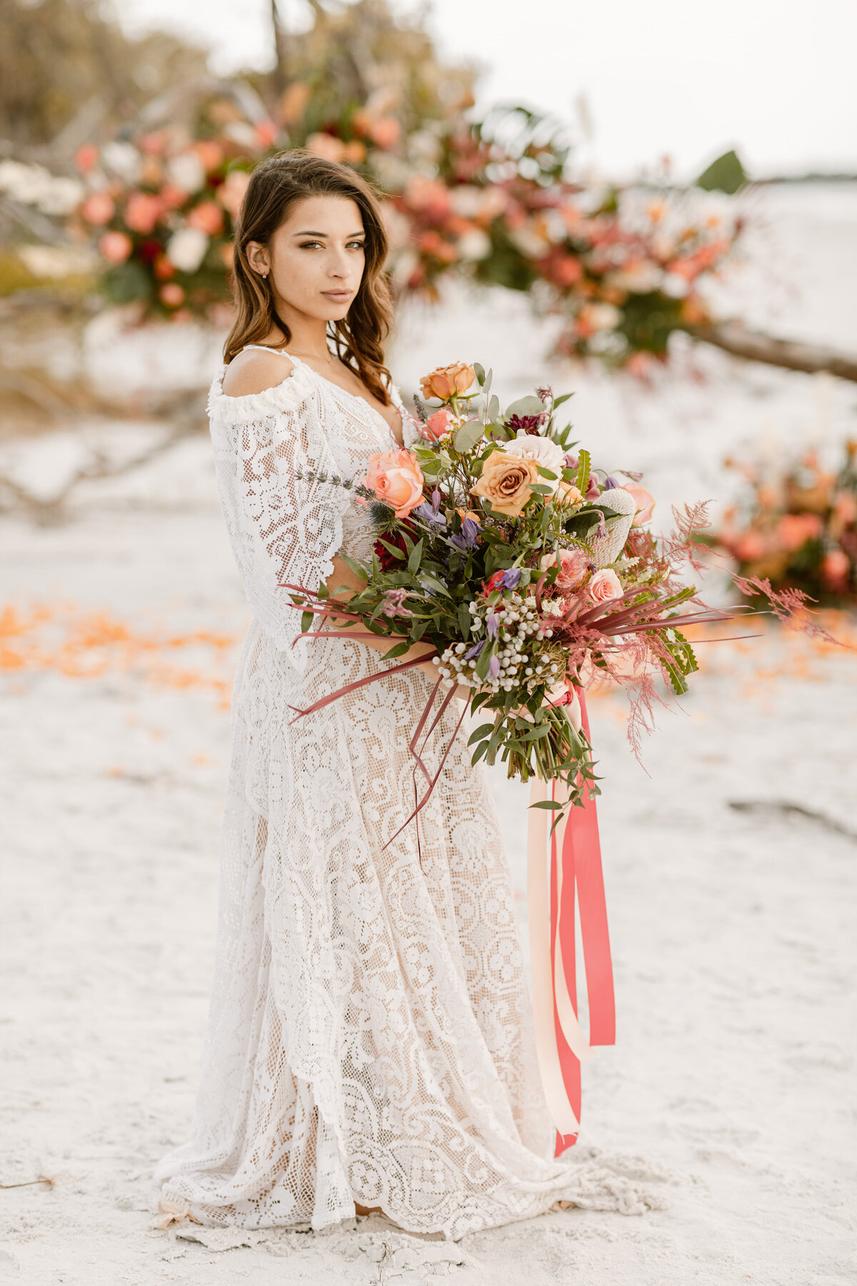 Beach Elopement in Saint Petersburg, Florida 5