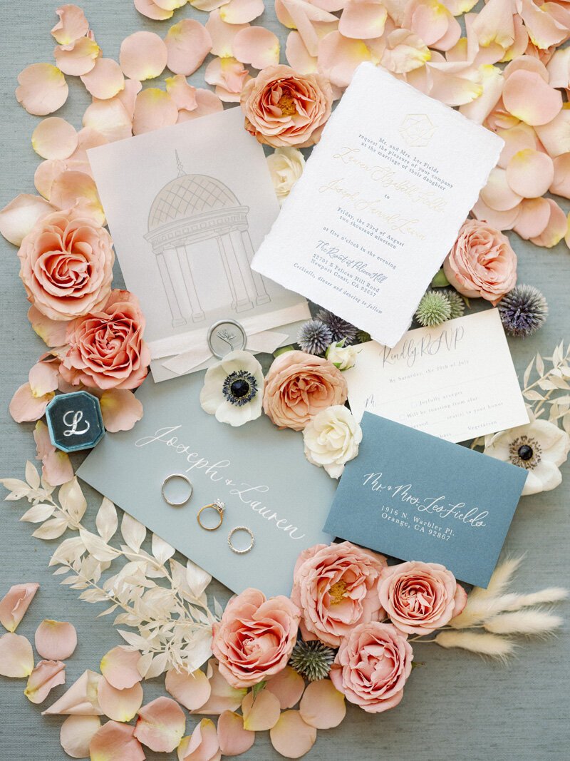 pirouettepaper.com _ Wedding Stationery, Signage and Invitations _ Pirouette Paper Company _ Pelican Hill Newport Beach Wedding _ Paul Von Rieter Photography  (3)