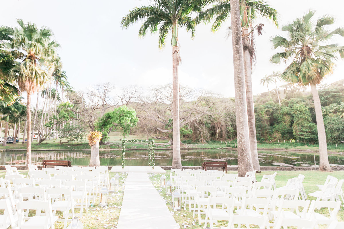 Barbados destination real wedding published in Martha Stewart Weddings magazine | Folu & Akua
