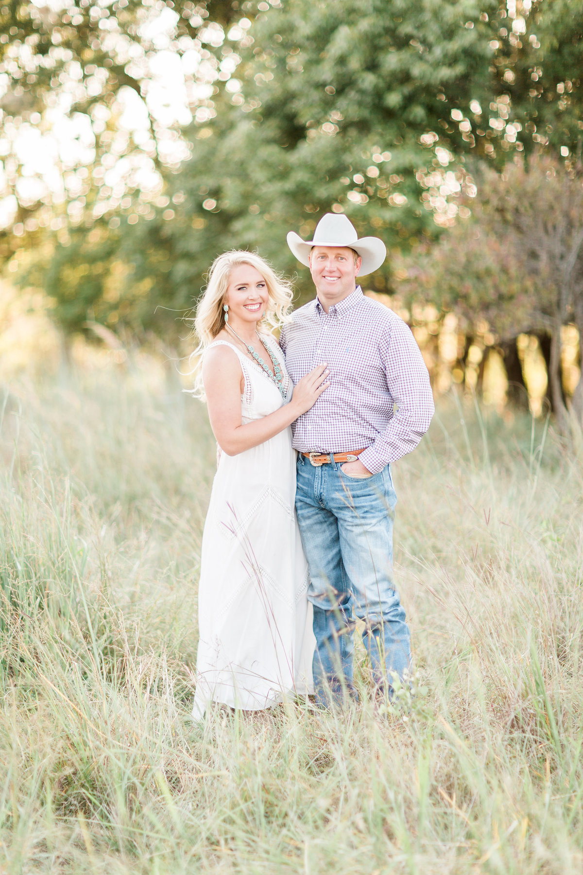 Roos Ranch Roff Oklahoma Engagement Photographer