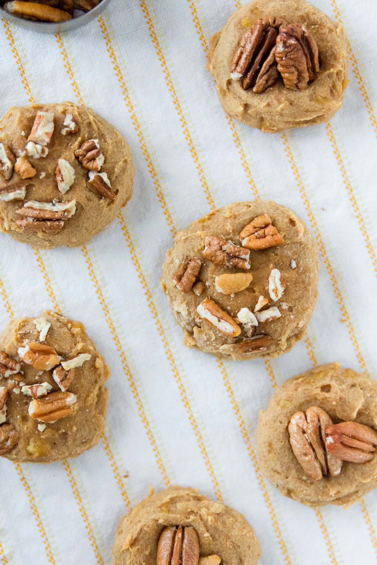 Gluten Free Peanut Butter and Walnut Breakfast Cookies-5