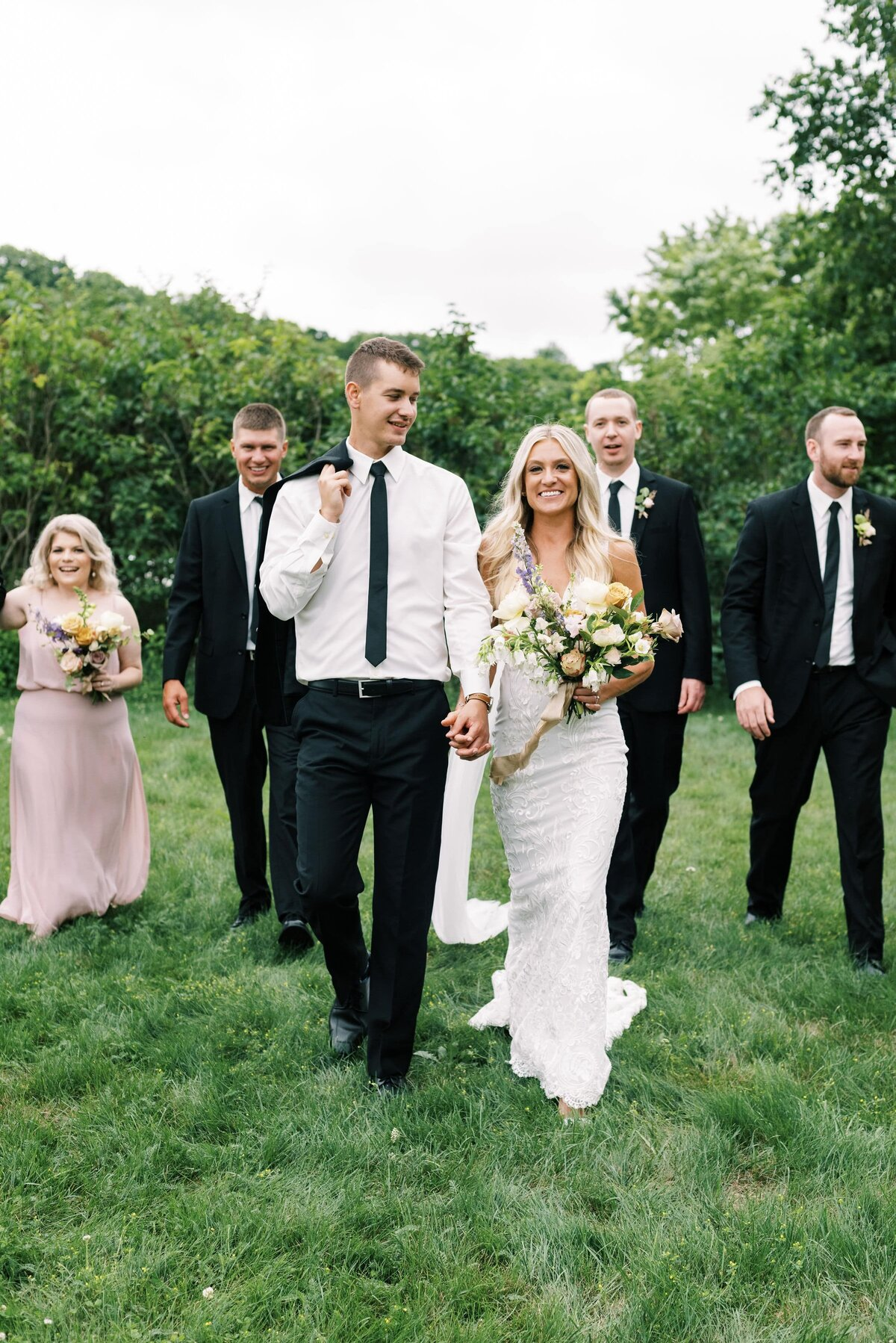 The Day's Design Traverse City Florist Blush Wedding Ideas-min