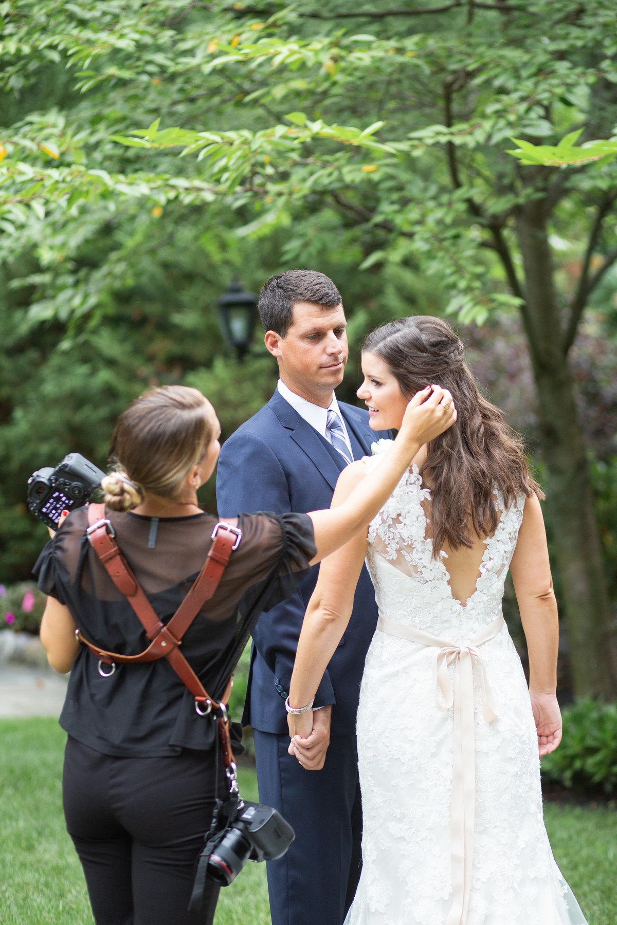 Ashley Mac Photographs - New Jersey Weddings - Behind the Scenes of a Wedding - BTS-52