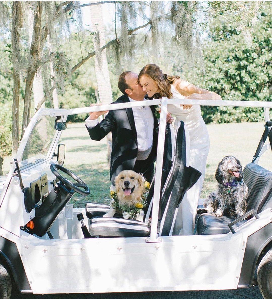 CHARLESTON WEDDING PLANNER, WEDDING DOGS