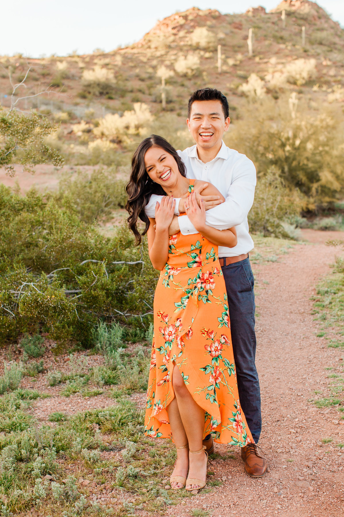 Tempe Papago Park Engagement Session-3786