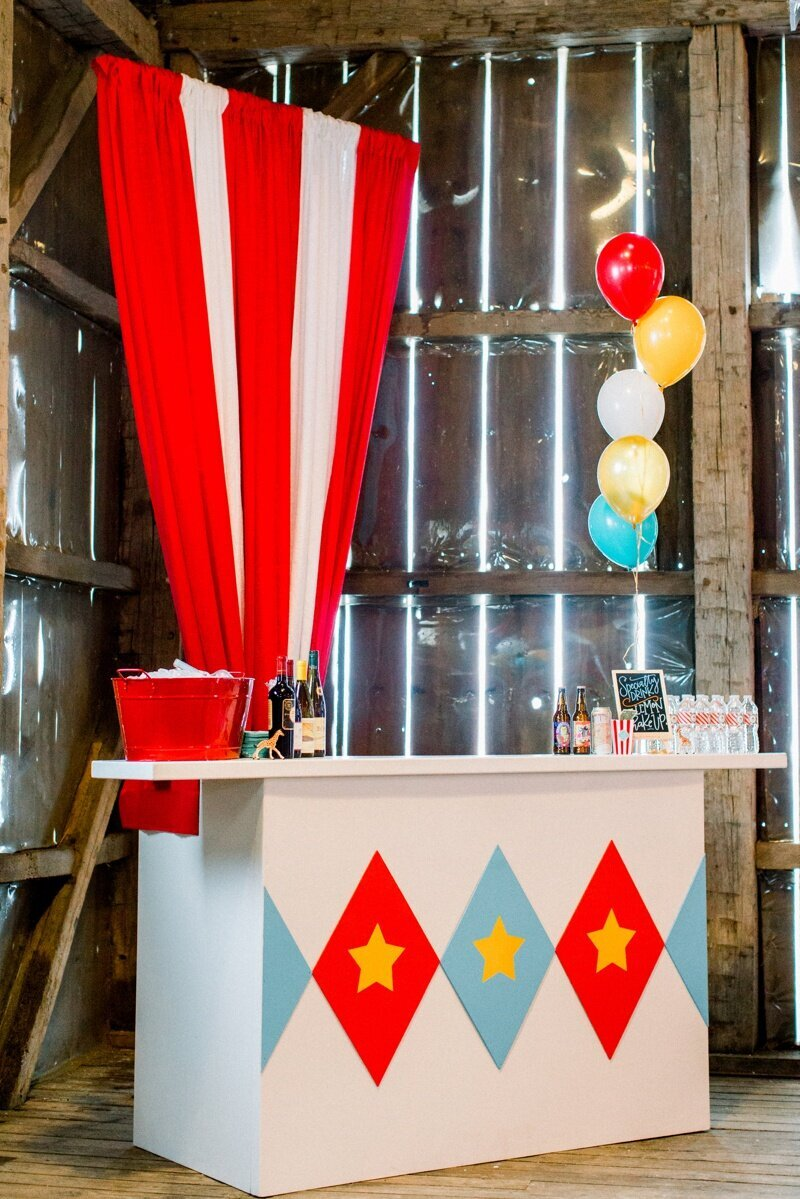Circus Themed 1st Birthday Indianapolis Party Planner_0070