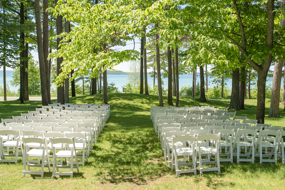 DESTINATION WEDDING IN TRAVERSE CITY WITH KRISTEN AND SCOTT Ceremony Seating