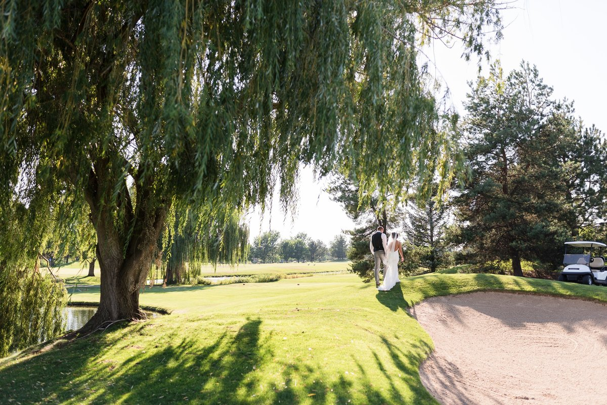 A Summer Banbury Golfcourse Wedding  - 094