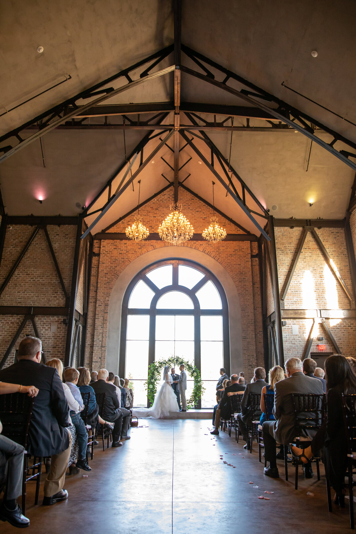 Wedding Ceremony at Iron Manor in Montgomery, TX