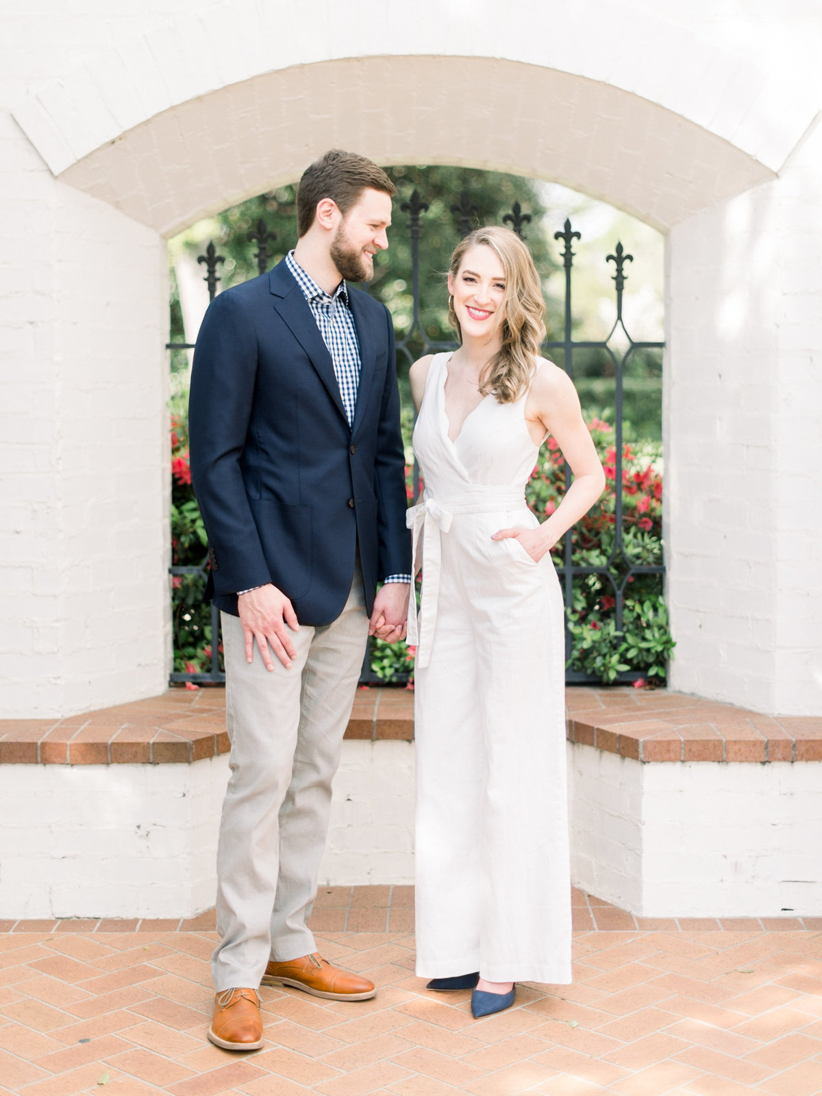 Courtney Hanson Photography - Dallas Spring Engagement Photos at Dallas Arboretum-2691
