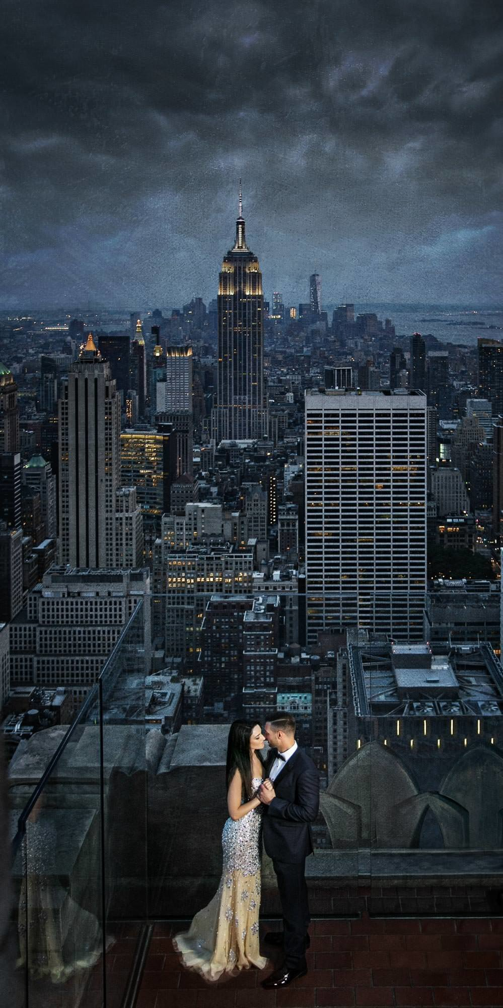 NJ Wedding Photographer Michael Romeo Creations Fav - 20150712 - MRC Signature - Top Of The Rock-2