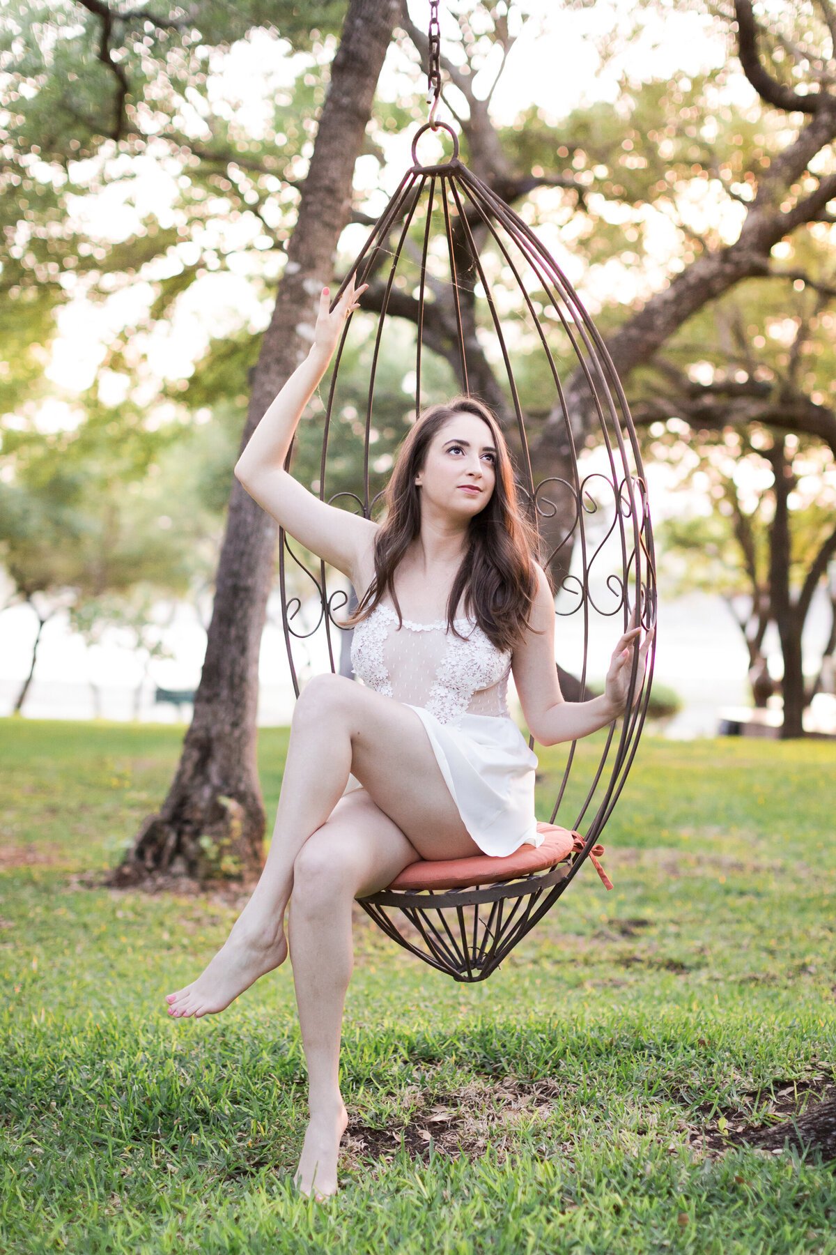 outdoor boudoir photography austin