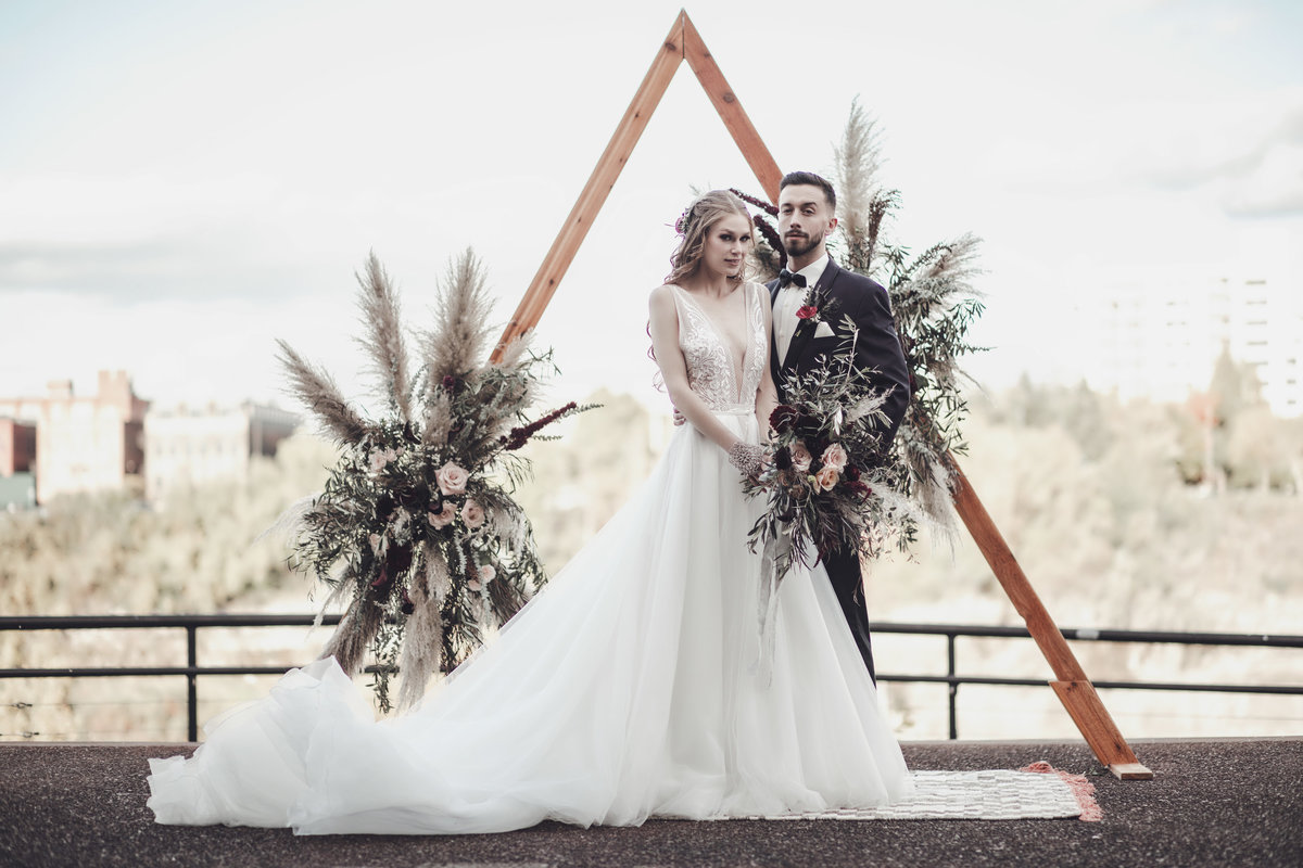Boho Edgy Fall Wedding Inspiration - Rochester NY - Verve Event Co (1)