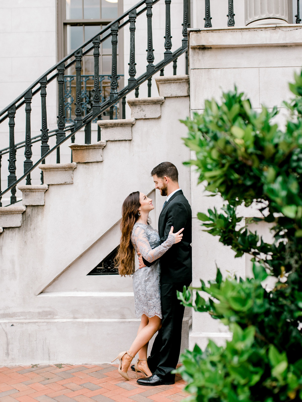 Formal Engagement session Savannah Georgia