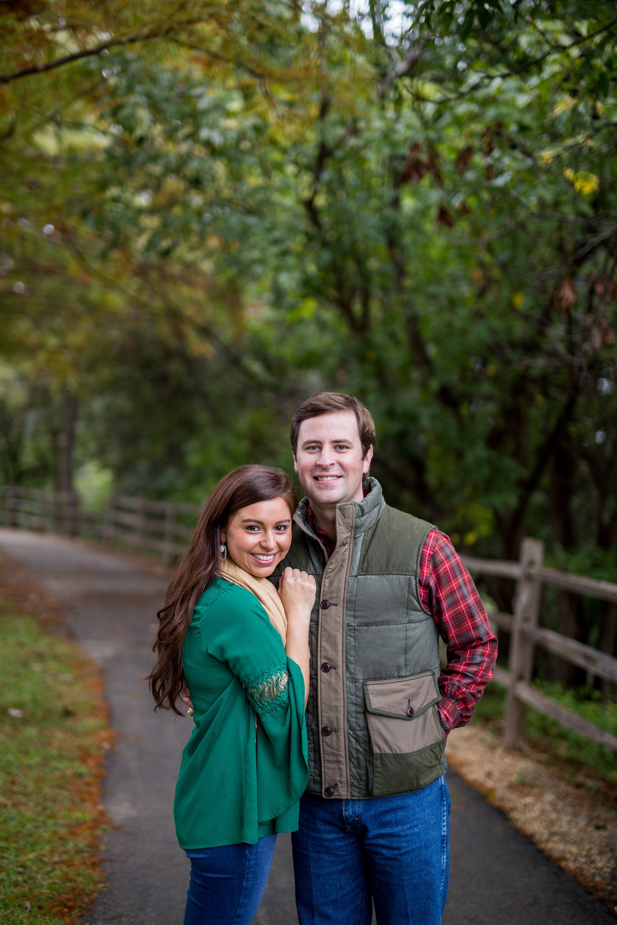 portrait of a married couple for holiday and fall photo session by San Antonio photographer Expose The Heart