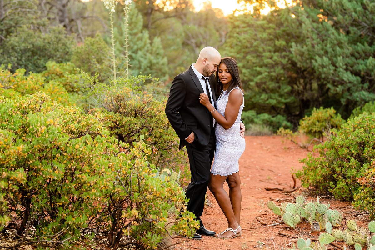 Monica + Austin - Sedona Engagement Session - Cathedral Rock - Lunabear Studios_0203