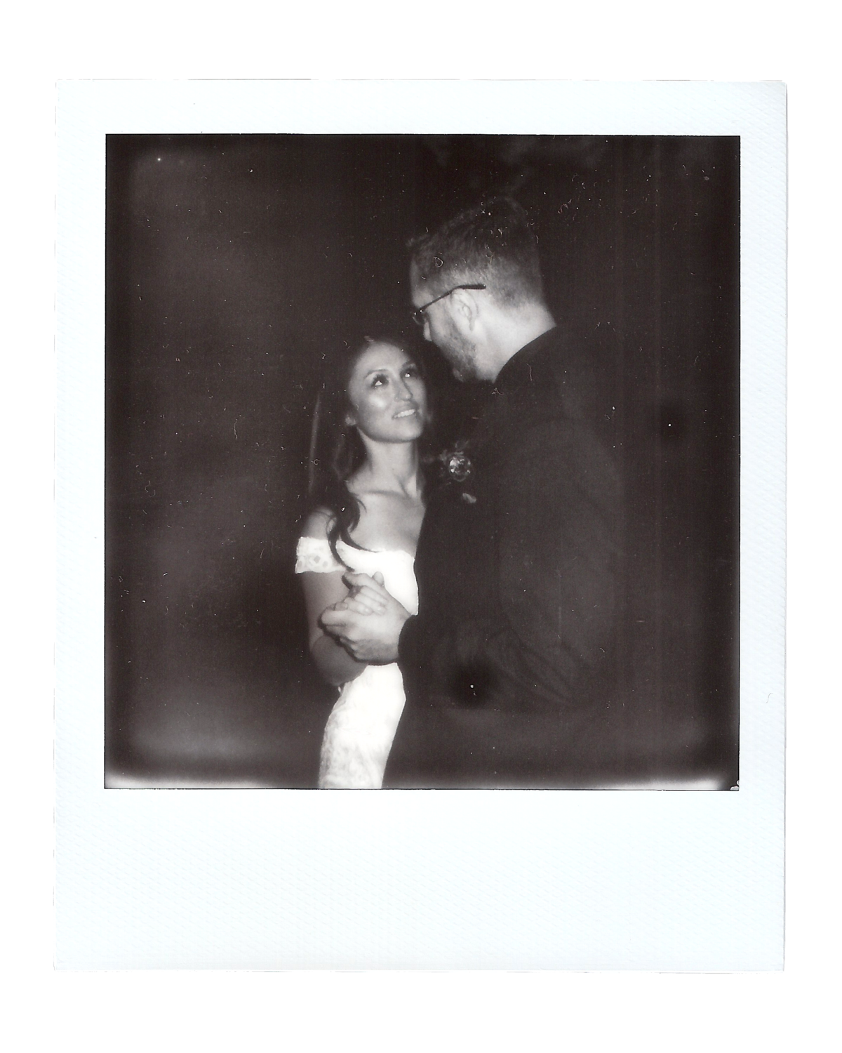 Laura + Brett | Backyard Wedding Polaroids00004