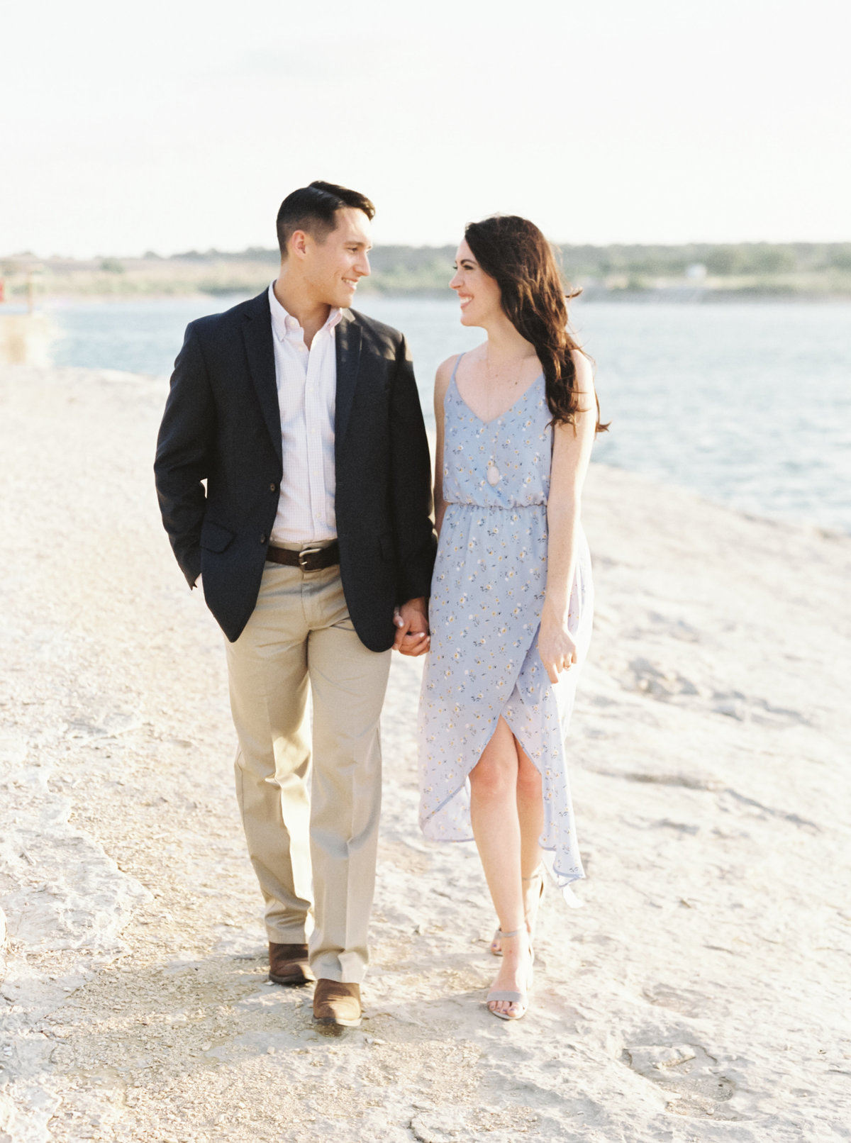 Hill Country Engagement Photos-13