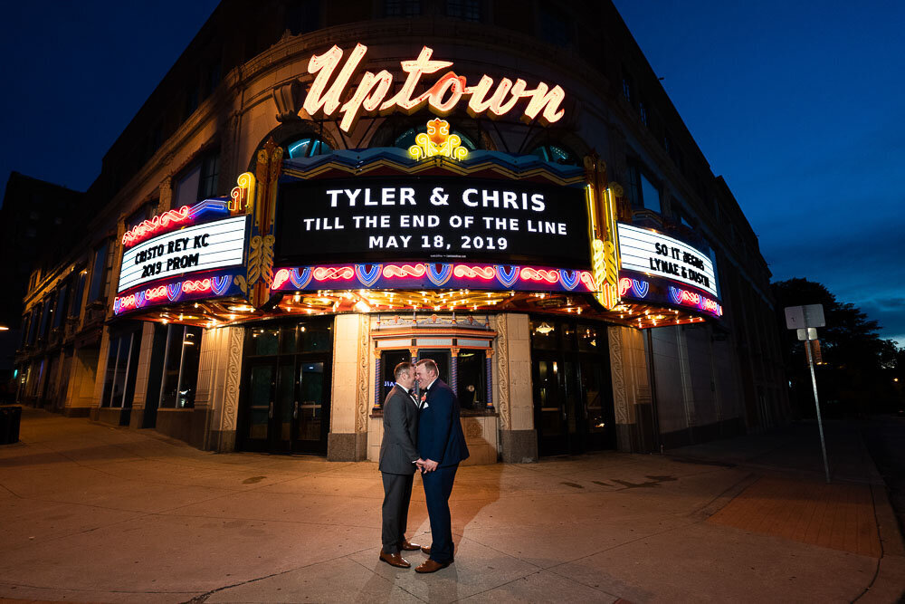 Uptown Theatre Wedding- LGBTQ Friendly Photographer - KC Wedding Photos - Emily Lynn Photography-6