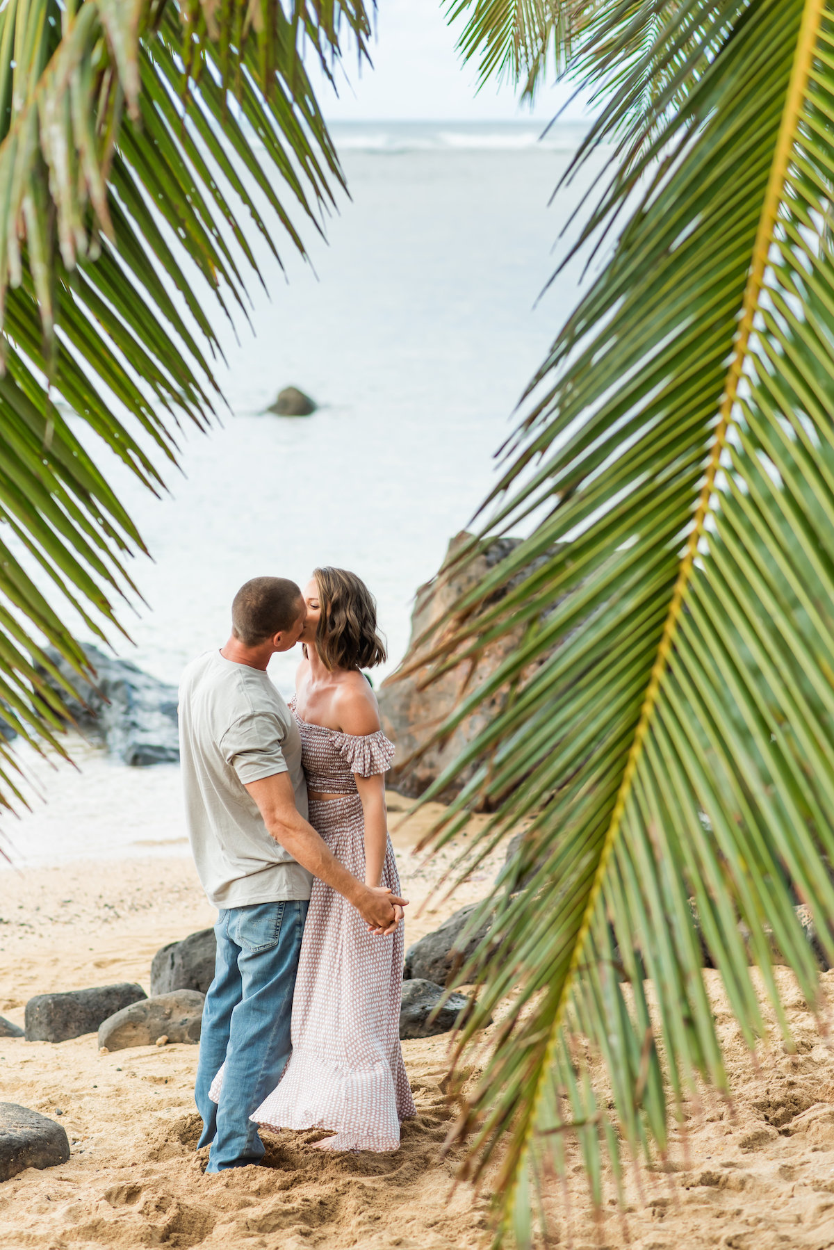 Romantic Kauai Couples Portraits
