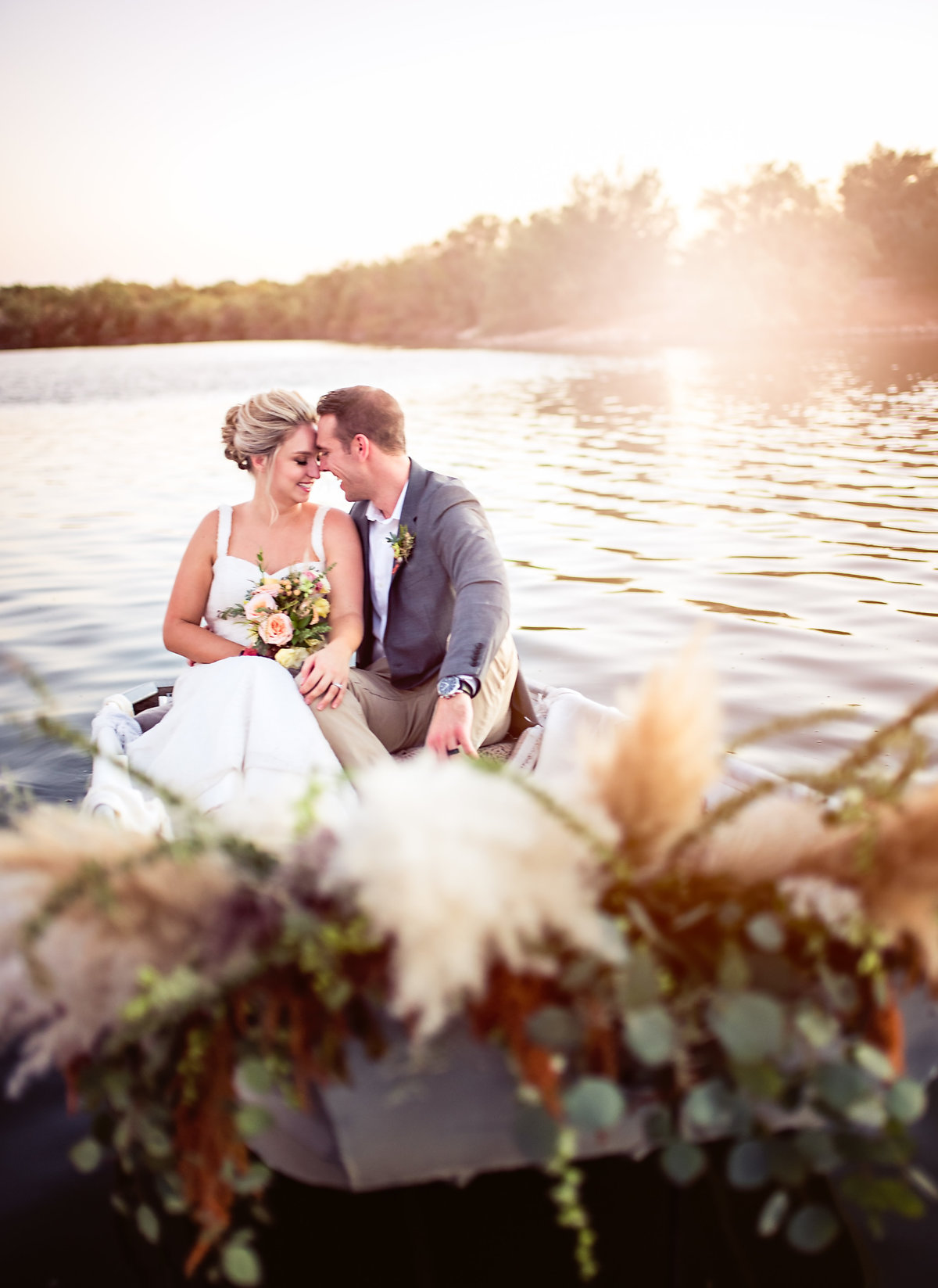 Couples wedding at Hidden Lakes Wedding Venue in Phoenix, Arizona