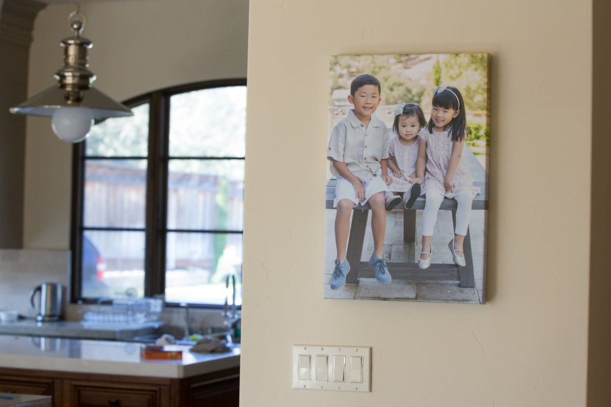 Family with Kids Wall Art Decor Photography